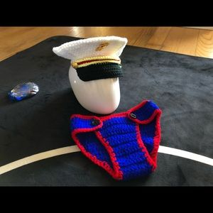 Other - Baby sailor crochet outfit